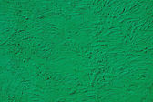 The texture of green walls painted large erratic strokes of pain — Stock Photo