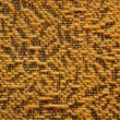 Woolen upholstery with orange color with a pattern of black thre — Stock Photo #69095911