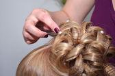 Hair dress — Stock Photo