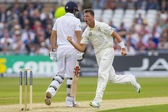 The Investec Ashes First Test Match Day One — Stok fotoğraf