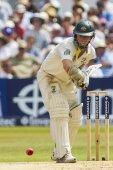 The Investec Ashes First Test Match Day Four — Stock Photo
