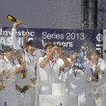 Постер, плакат: International Cricket England v Australia Investec Ashes 5th Tes