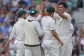 International Cricket England v Australia Investec Ashes 5th Test — Stock Photo