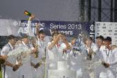 International Cricket England v Australia Investec Ashes 5th Tes — Stock Photo