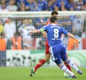 2012 Champions League Final Chelsea Training — Stok fotoğraf