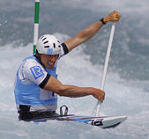 2014 ICF Canoe Slalom World Cup — Stock Photo