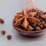 Thai food Cooking ingredients. - spice tast — Stock Photo #74618803