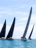 SAMUI REGATTA 2015, THAILAND - MAY 30 : Event at Chaweng beach , — 图库照片