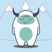 Cute monster — Stock Vector