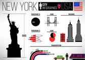 XX City Infographic Design Template — Stock Vector