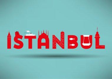 Istanbul Typographic Design