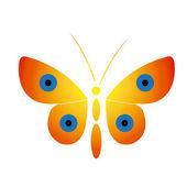 Papillons — Vecteur
