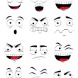 Facial expressions — Stock Vector #53110109