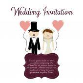 Wedding — Διανυσματικό Αρχείο