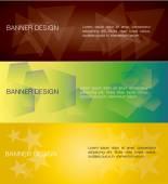 Banners — Vetorial Stock
