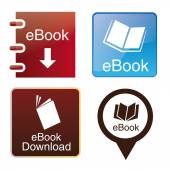 Ebooks — Stockvector