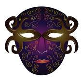 Maski karnawałowe — Wektor stockowy