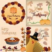 Thanksgiving — ストックベクタ