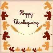 Giorno del ringraziamento — Vettoriale Stock