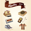 Hipster — Stock Vector #60610623