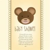 Baby bakgrund — Stockvektor