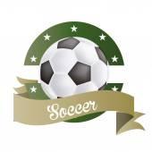 Fotbol — Stockvektor