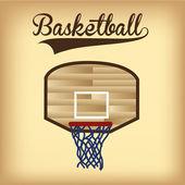 Basketball — Stock Vector