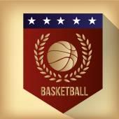 Basketbol — Stok Vektör