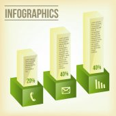 Business infographics — Stock Vector