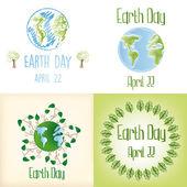 Dag van de aarde — Stockvector