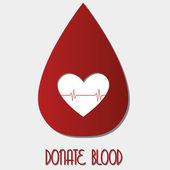 献血 — ストックベクタ