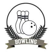 Bowlin — Stock Vector