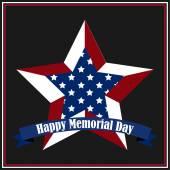 Memorial day — Stock Vector