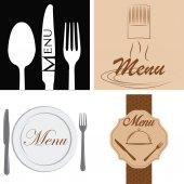 菜单设计 — 图库矢量图片