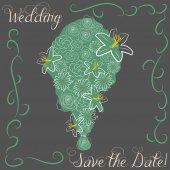 свадьба — Cтоковый вектор