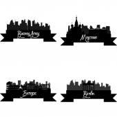 Skyline — Wektor stockowy