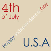 Happy independence day — Stock Vector