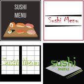 Sushi — Stock Vector