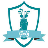 Golf — Stok Vektör