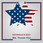 Veteran's day — Stock Vector