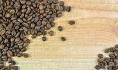 Die kaffee-hintergrund — Stockfoto