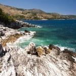 Rugged Greek coastline — Stock Photo #67251153