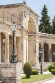 Cidade de corfu, grécia — Fotografia Stock
