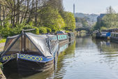 Sowerby Bridge Marina, Calderdale — Stock Photo