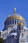 Prawosławny Naval katedry Świętego Mikołaja w Kronshtadt — Zdjęcie stockowe