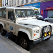 Постер, плакат: Old Land Rover
