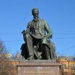 Monument to a great russian composer Nikolai Rimsky-Korsakov — Stock Photo #55244501