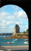 Solidor Tower in Saint-Malo — Stock Photo