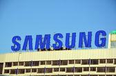 Samsung logo — Stock Photo