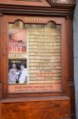 Theater playbill — Stock Photo